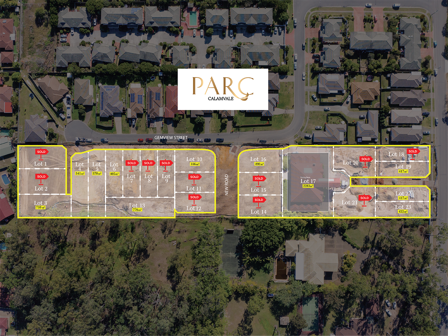 PARC Calamvale over 50% sold!